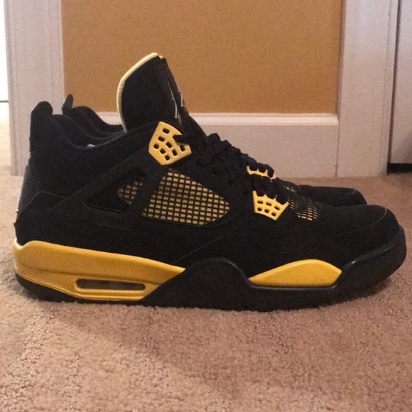 "online store 6ee67 4e138 Air Jordan 4 ""thunder"" size 12"